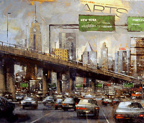 COMING TO NEW YORK 150×50