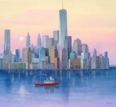 8.-Amanece-en-New-York-50×61-cm