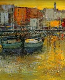 20-reflejos-puerto_honfleur-40×40