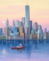 11.New York 50×61 cm