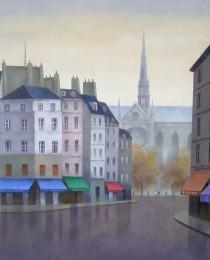 15.Quartier Latin, París 38×46 cm