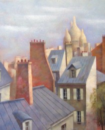 20.Tejados de París 38×46 cm