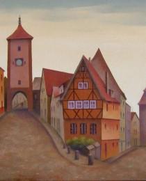 21.Rothenburg, Alemania 38×46 cm