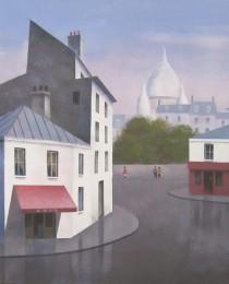 22.Montmartre, París 38×46 cm