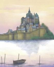 27.Le Mont Saint Michel 40×40 cm