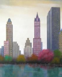 28. Central Park NY 40×40 cm