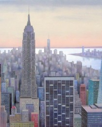 3.Top of the Rock NY 65×81 cm