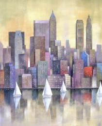 5.New York regata 65×81 cm