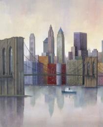 6. Brooklyn Bridge, New York 50×61 cm