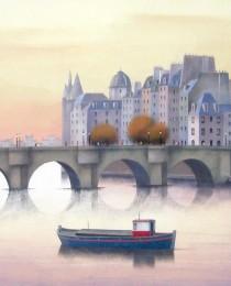 9.El Sena, París 50×61 cm