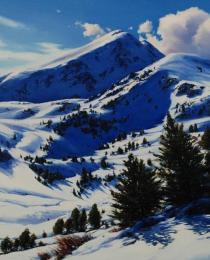 21. Nieve en Ulldeter 55×38