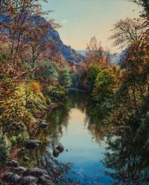 7. Otoño en Pesquera de Ebro 65×50