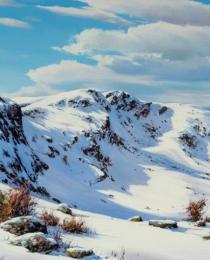 9. Nieve en la Sierra de Gredos 80×40