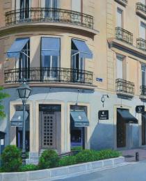 Beatriz-Olabarría,-Esquina-de-Ayala,-óleo-sobre-lienzo,-41-x-60-cm-1