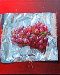 uvas-rojas-y-aluminio-40×40