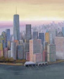 1. Manhattan 81×130 cm