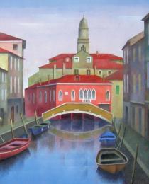 15. Rio Gaffaro, Venecia 50×50 cm