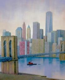 2. Brooklyn Bridge, NY 81×116 cm