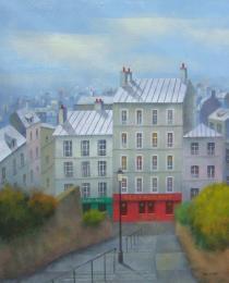 20. Desde Montmartre 46×38 cm