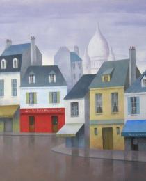 22. Montmartre, París 38×46 cm