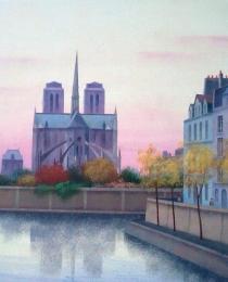25. Notre Dame, París 38×46 cm