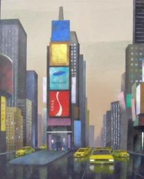 28. Times Square, NY 40×40 cm