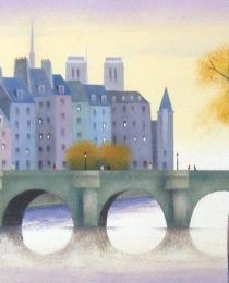 30. Pont Neuf, París 20×40 cm