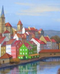 6. Baden, Suiza 65×81 cm