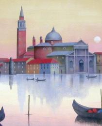 7. San Giorgio, Venecia 40×80 cm