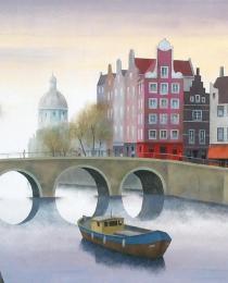 8. Amsterdam 50×61 cm