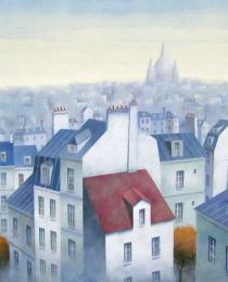 9. Tejados de París 50×61 cm