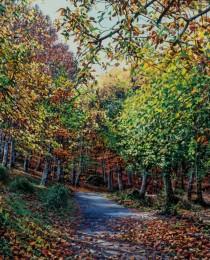 13-Castaños-en-otoño-46×65