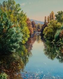 24-El-río-Onyar-en-Pont-Major-38×55