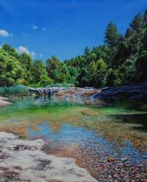 32-El-río-Ulldemó-46×38