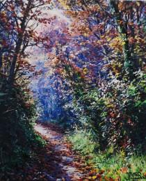 33-Camino-en-otoño-30×30