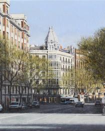 17–Calle-del-Príncipe-de-Vergara,-46-x-73-cm