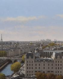 3–Vista-de-París,-óleo-sobre-tela,-92-x-150-cm