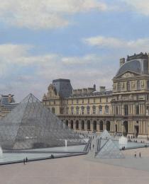 4–El-Louvre,-óleo-sobre-tela,-92-x-146-cm