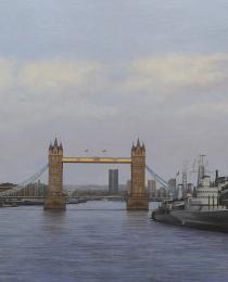 5–Puente-de-Londres,-óleo-sobre-tela,-92-x-162-cm