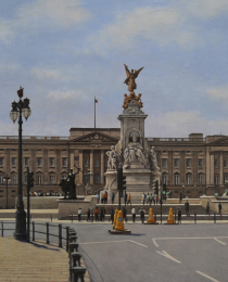 8–Palacio-de-Buckingham,-óleo-sobre-tela,-92-x-146-cm